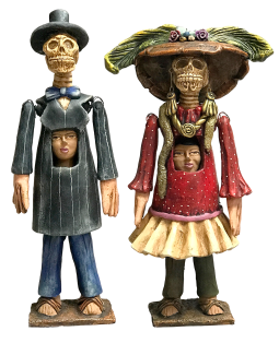 Mojigangas Couple