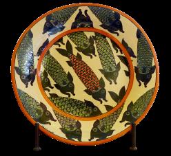 Ceramics Fish Plate