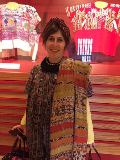 Erica in Textile Museum