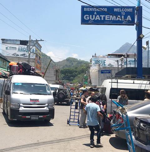 Mexico-Guatemala Border