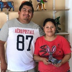 Franco and Nely Ramírez