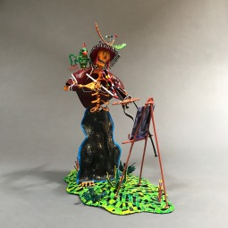 Artist Sculpted wire