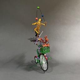Circus bike Sculpted wire