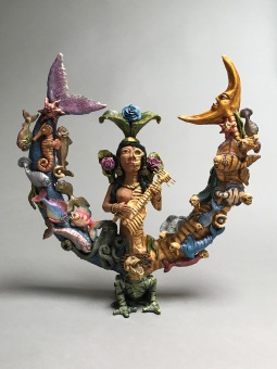 Duality Mermaid Sculpture