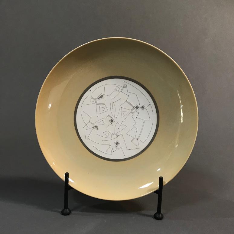 Gustavo Pérez ceramics plate