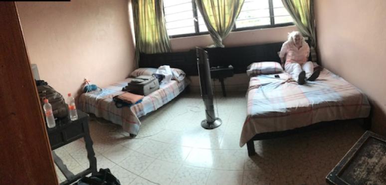 Hotel Aborado Mexican border with Guatemala