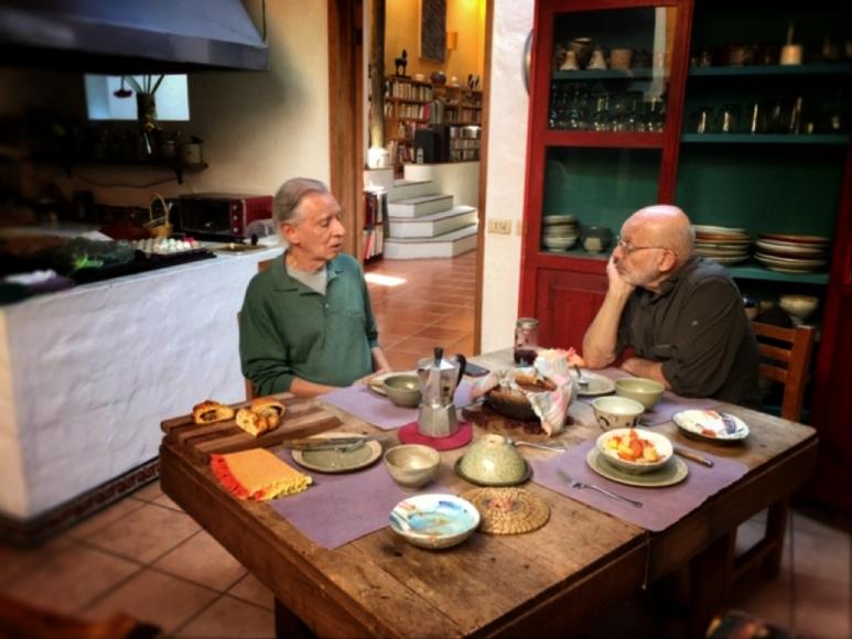 Breakfast with Gustavo Pérez