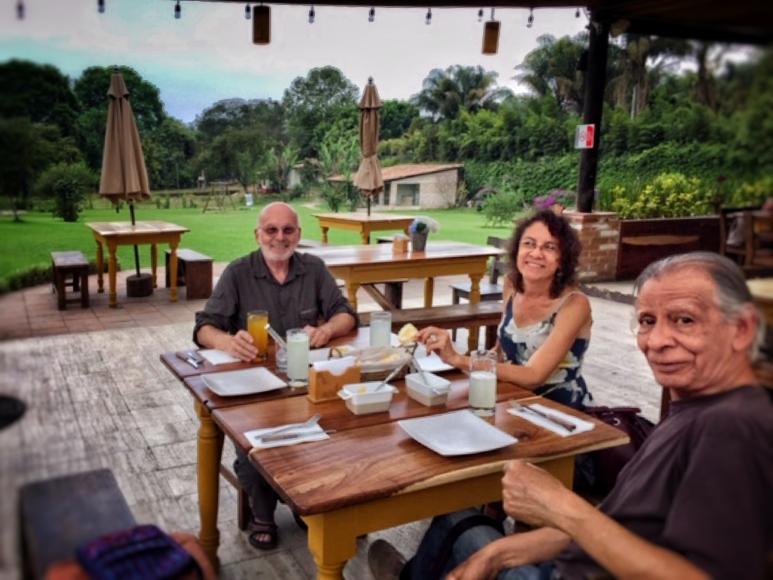 Breakfast with Veronica and Gustavo Pérez