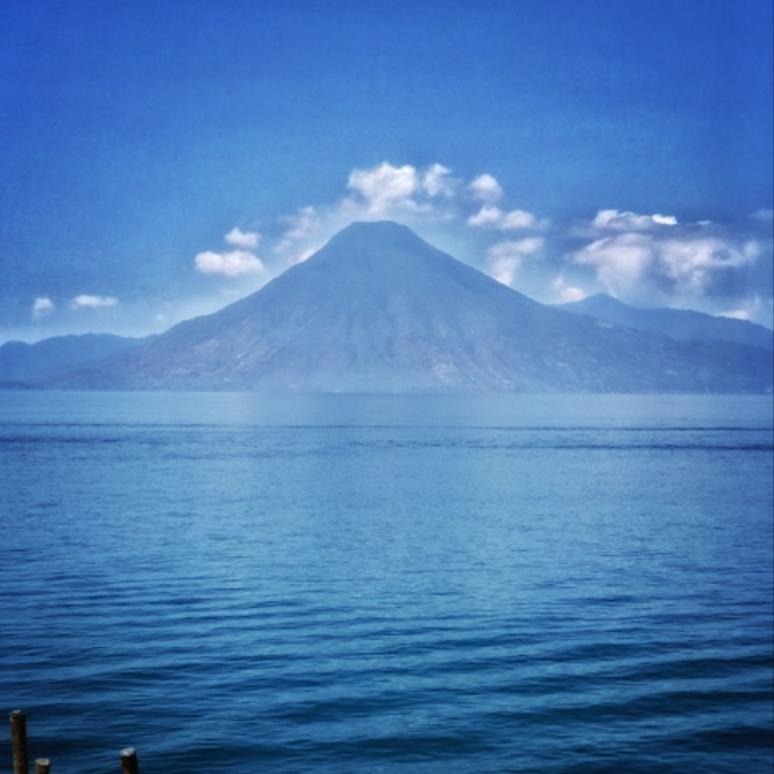 Panajachel volcanoes