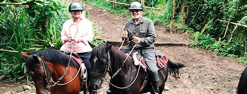 Horseback Roding Santa Rita Falls