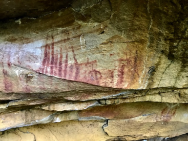 Chibcha Cave Paintings