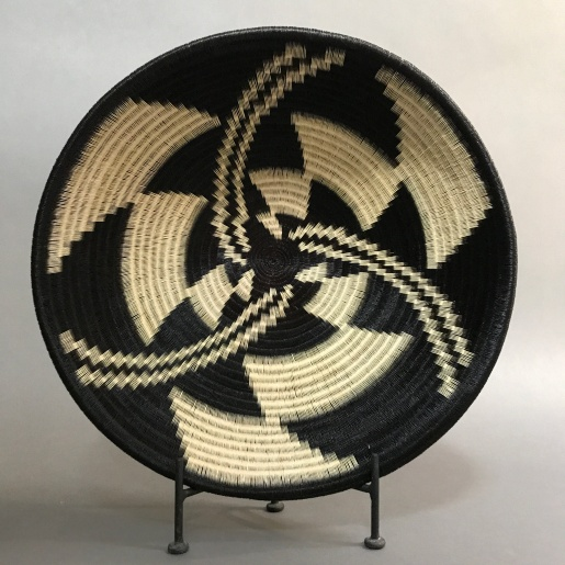 Wounaan baskets plate