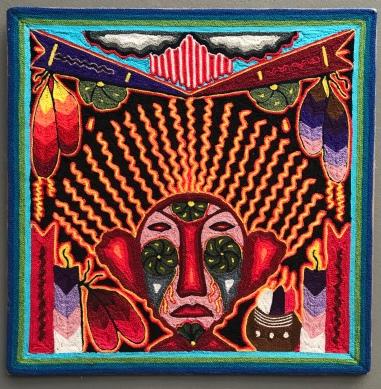 Huichol art cosmovision