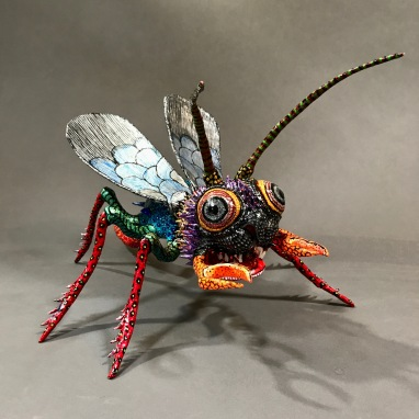 Paper Mache Alebrije Fly