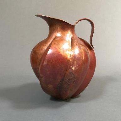 Roberto Castro copper vase