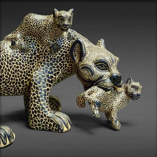 Ceramic Jaguars