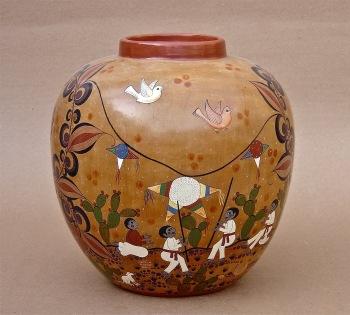 Ceramics Vase Piñata Fiesta