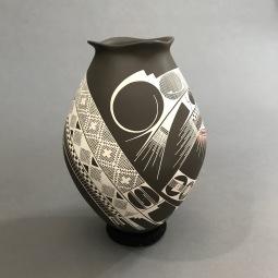 Mata Ortíz Pottery 1 by Olivia Domínguez