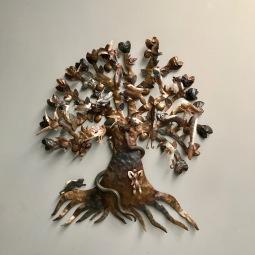 Árbol de la Vida en Acero Forjado by Guadalupe Hermosillo