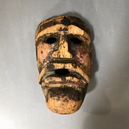 Negrito Mask Mixe Region Sierra Oaxaca Early 20th Cent.