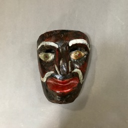 Negrito Mask Oaxaca 1st half 20th Cent.