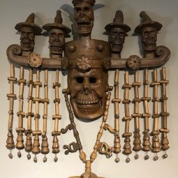 Jesús Castro Muertos Mask San Francisco, Guerrero