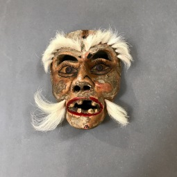 Vintage Viejito Mask last half 20th Cent.